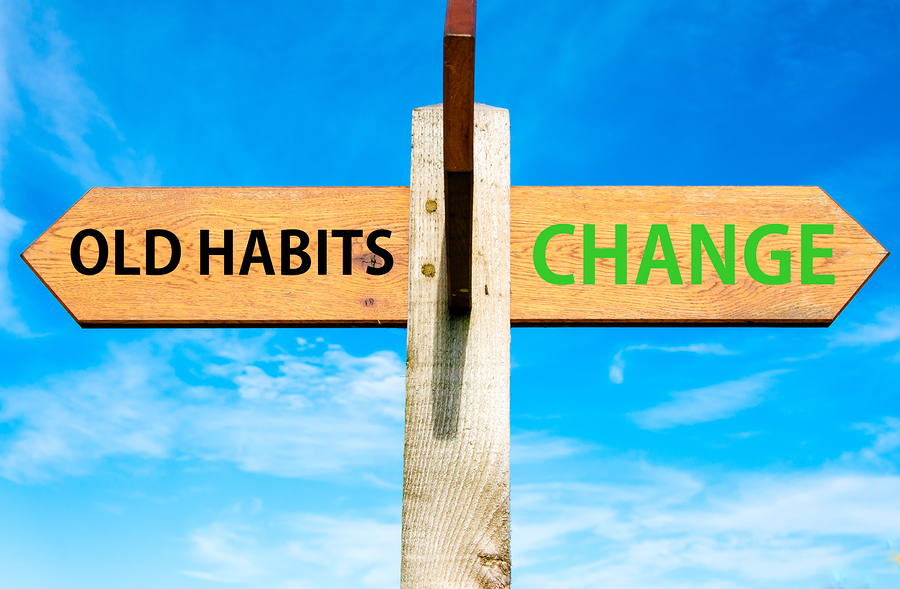 Old Habits versus Change messages